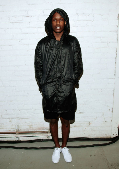 MTV EMA 2012: los nominados a Mejor Look! - A$AP ROCKY